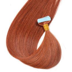 Bande de gros en usine dans les Extensions de cheveux 33# La couleur des cheveux humains