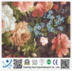 스판덱스 스트레치 폴리에스테르 스네이크와 옷감을 위한 꽃 프린팅 직물