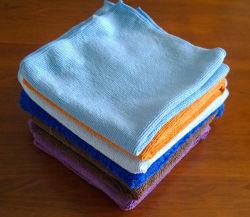 Les serviettes de lingettes en microfibres Chiffon de nettoyage