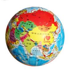 Sfera gonfiabile del globo del PVC stampata promozione ecologica