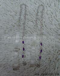 De façon décorative Bijoux en Métal Bandoulière Bra Rhinestone Crystal Femmes