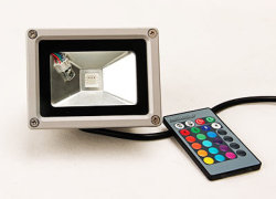 IP65، مقاومة للماء، 10 واط/30 واط/50 واط/70 واط/80 واط/100 واط، مصابيح الإضاءة الغامرة الخارجية LED التجارية