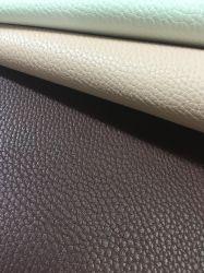 Высокое качество шаблон Lichee PU пространства из натуральной кожи для диван /Председатель - Ykx07A