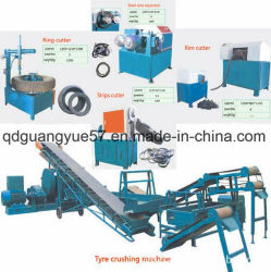 Linea di produzione di gomma residua della polvere della pianta di riciclaggio del pneumatico