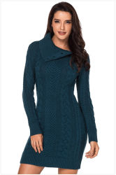 fashion Knitted Clothes Knitdress 숙녀 스웨터 복장