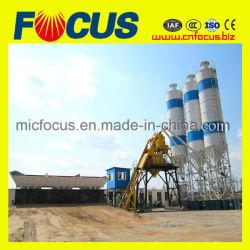 Pequeño Hzs75 Planta de proceso por lotes de concreto/hormigón mezcla húmeda Batch/Planta de mezcla