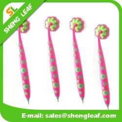 Promotion attrayant en caoutchouc souple PVC magnétique promotionnel stylo de couleur