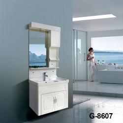 2018の安いヨーロッパの現代ホーム装飾的な虚栄心の防水白い浴室用キャビネット