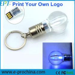LED 라이트펜 드라이브 창조적인 전구에 의하여 형성되는 USB 섬광 드라이브 (ET016)