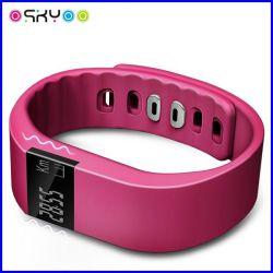Вахта Bluetooth Wristband системы управления здоровья франтовской