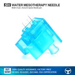 Cuidado de Piel de Beijing Mesoterapia Pistola de Agua/5 Pin Mesogun agujas