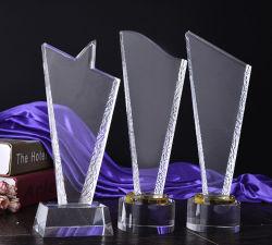 Élégant trophée de cristal Awards pour cadeau souvenir