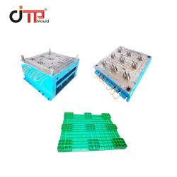 Venta directa de fábrica resistente al Aire Libre 3 corredores de inyección de palets de plástico apilables plano molde