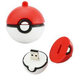 새로운 귀여운 만화 PVC Pokemon Pokeball USB 플래시 디스크