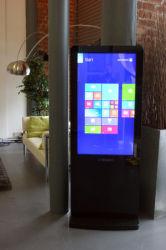 Volledige Grote TV HD die van Dedi 55inch de Digitale Signage LCD Vertoning van de Kiosk van het Scherm adverteren