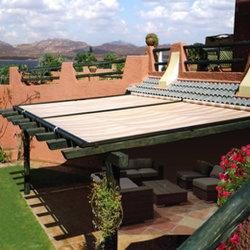 Bonne qualité 68 silencieux pare-soleil de toit