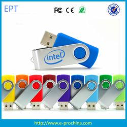 Bon marché coloré de la promotion de cadeaux/USB Lecteurs Flash USB pivotant (ET566)