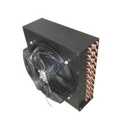 1/2hp de réfrigération de tube de cuivre refroidi par air avec le moteur du ventilateur du condenseur