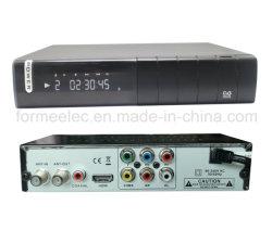 Casella FTA HD DVB-T DVB-T2 della parte superiore del set televisivo di STB