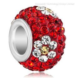 Perles de cristal de paver la bille Rhinestone