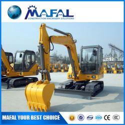 machinerie de construction de la machine excavatrice chenillée XE60