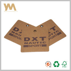 Hot Sale Étiquette en papier kraft brun