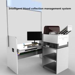 L'hôpital clinique Lab à l'aide de l'équipement de collecte de sang automatique