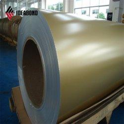 PE y de aluminio con recubrimiento de la bobina de PVDF con aspecto de madera Ideabond