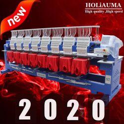 На заводе тип Barudan Holiauma 15 иголки 8 головок винтов с компьютерной вышивкой адаптированные рубашки машины 1/2/4/6/8 головки для продажи