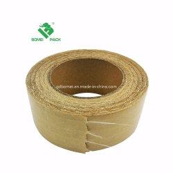 Agua activa Dongguan Papel Kraft reforzado con fibra de escritura de cinta engomados