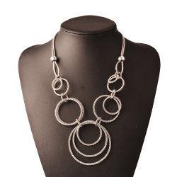 Преувеличивать не тускнеют цепочка костюм громоздкие ожерелья ювелирные украшения моды