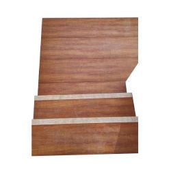 Grãos de madeira personalizado em alumínio metálico Pontoon Piso da Plataforma
