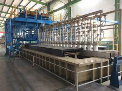 Lieferanten-Galvanisierung-Stahldraht-Maschinen-Produktion- von Ausrüstungsgegenständenzeile