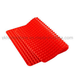 Usine porte-pot plat en silicone d'alimentation de tapis de séchage de la table de cuisine du tampon