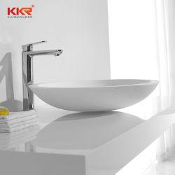 Salle de Bain lavabo en pierre naturelle des bassins de l'acrylique Surface solide lavabo avec CUPC