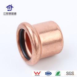 Appuyez sur la réduction de raccord en t de cuivre Gaz/Eau du raccord de tuyau Raccord en t de cuivre de matériel