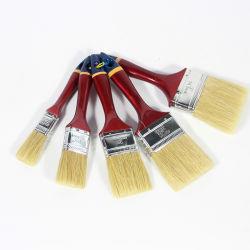 Het Schilderen van het Haar van het varkenshaar de Borstel van de Kunst Gemakkelijk om Houten Schoonmakende Borstel schoon te maken