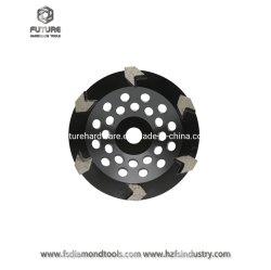 180mmの角度粉砕機のための具体的な粉砕のダイヤモンドの粉砕のコップの車輪