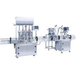 샴푸 로션 액체 비누 충전물 기계를 위한 작은 병 또는 단지 충전물