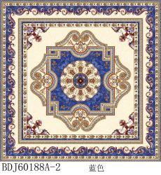Le décor Tile Rangoli tapis en dalles carrelage de sol en céramique plancher de carreaux en porcelaine Wall Tile carrelage de marbre mosaïque vitré en Inde