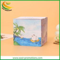 El bloc de papel de impresión personalizada cubo block de notas para regalos promocionales