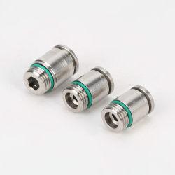 Cpo, 304 aço inoxidável casquilho sextavado direto com o conector de rosca externa COP4-M5/M6/01/02 COP6-M5/M6/01/02/03/04