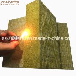 La laine de roche minérale laine de basalte de blocs d'isolation thermique en fibre composite sandwich