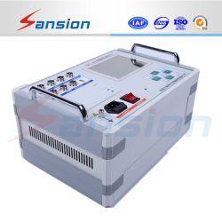 El disyuntor características mecánicas del analizador de temporizador y el instrumento de prueba de disyuntor