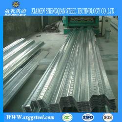 耐火性の波形の電流を通された鋼鉄Yx51-250-750床のDeckingシート