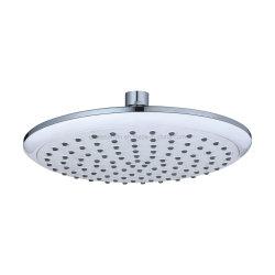 Allumé en salle de bains à bille en laiton carré de la tête de douche avec LED