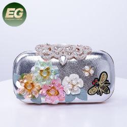 Группа вечер дамы свадебные сумки Pearl цветы ручной работы кошельки пакет муфты Eb1065