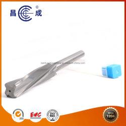 El cobalto acero de alta velocidad 4 Flautas alisador con orificio de refrigeración interior del agujero para el procesamiento
