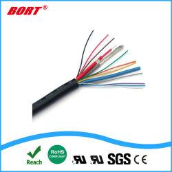 Al bouclier Maylar UL2464 Câble d'alimentation électrique pour l'audio
