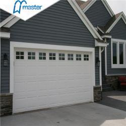 Commerciale extérieure de porte de garage automatique de la sécurité en métal avec petite porte